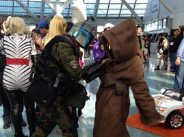 Questioning a Jawa by Ghost141