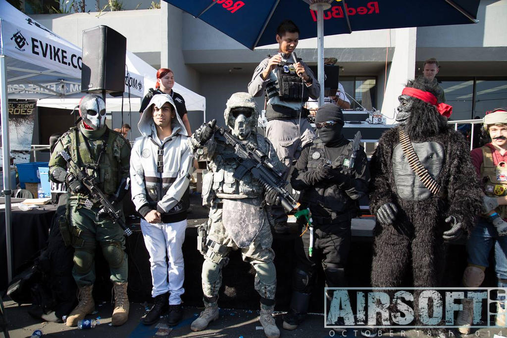 Evike Airsoft Con 2014 by Ghost141
