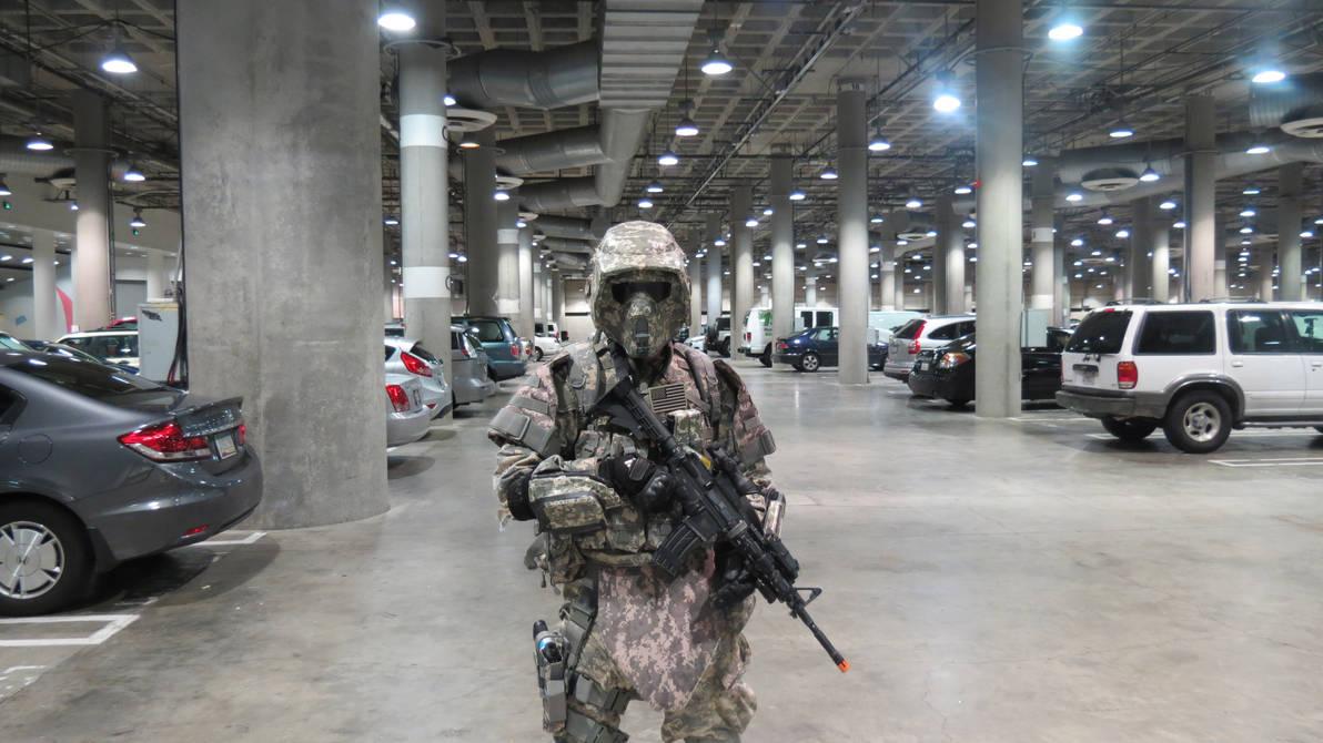 On Patrol by Ghost141