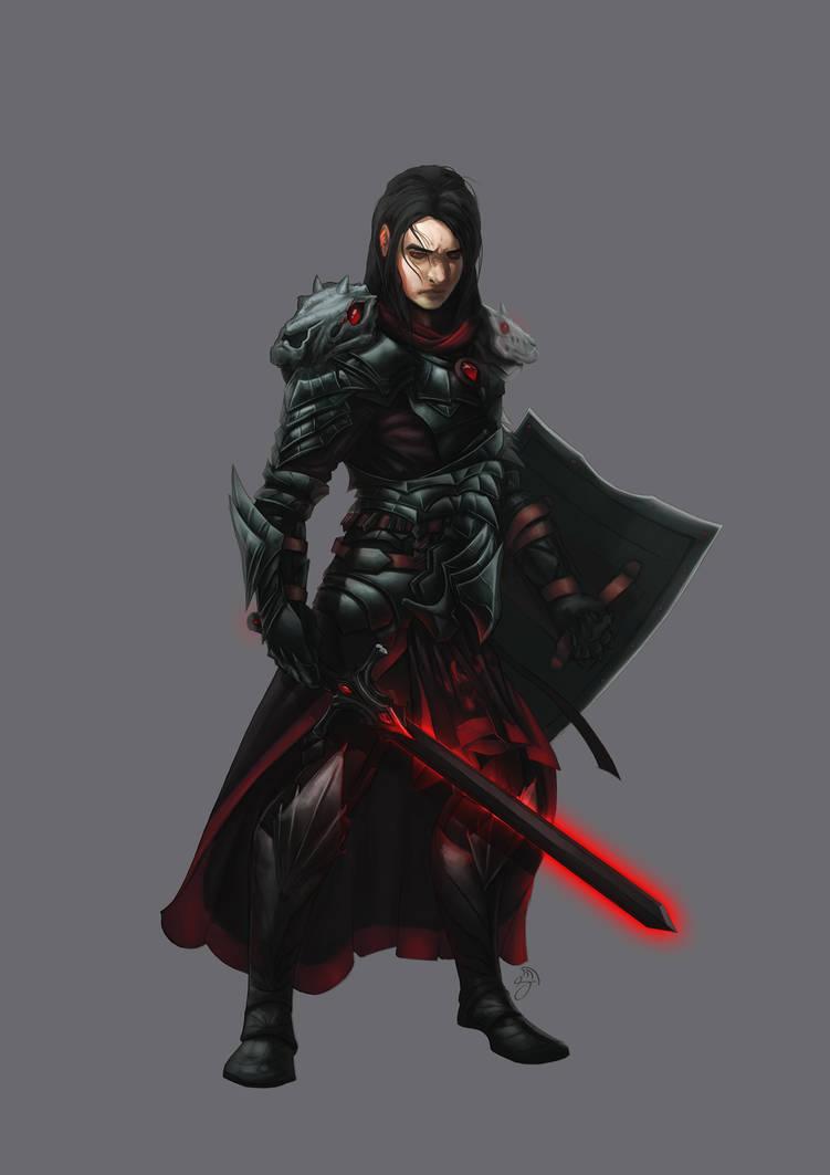 Malekith, the Aasimar Hexblade