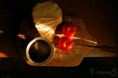 breakfast by zalciolunkis