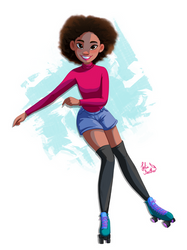 Skater Girl by LolieFeather