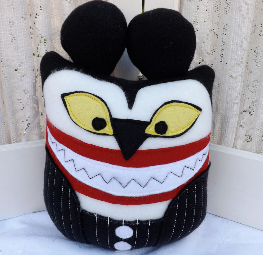Owl Plushie Scary Teddy Nightmare Before Christmas by ...