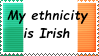 Irish Ethnicity Stamp by ChrisHartleyz