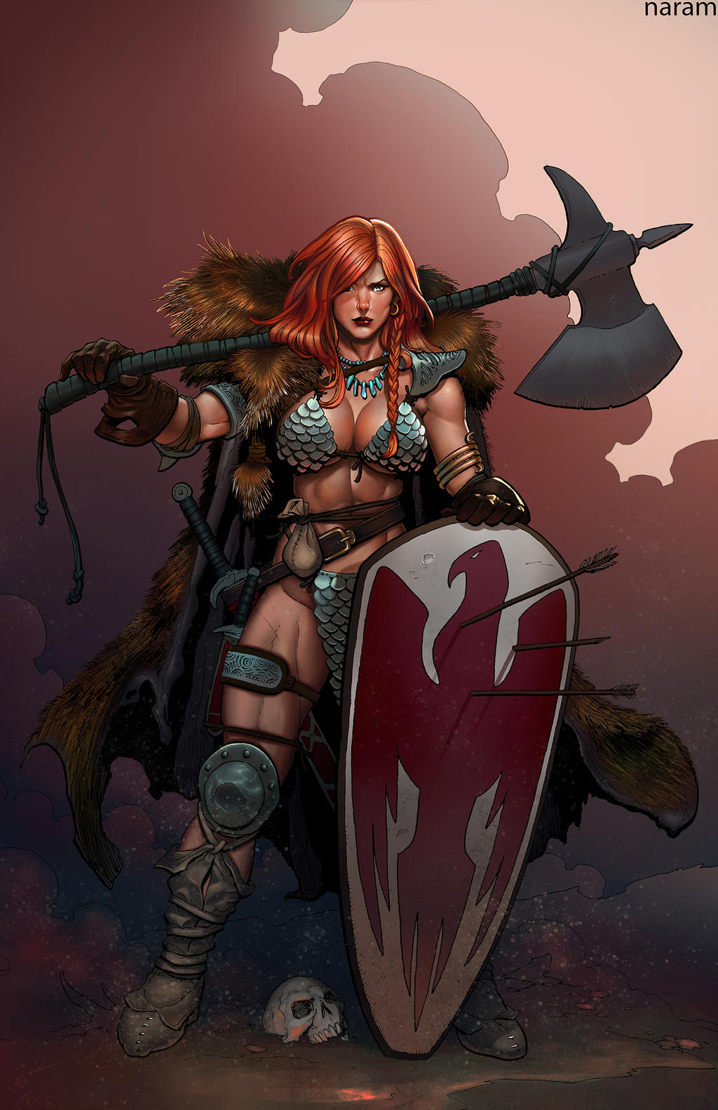 Red Sonja by NaramSinha