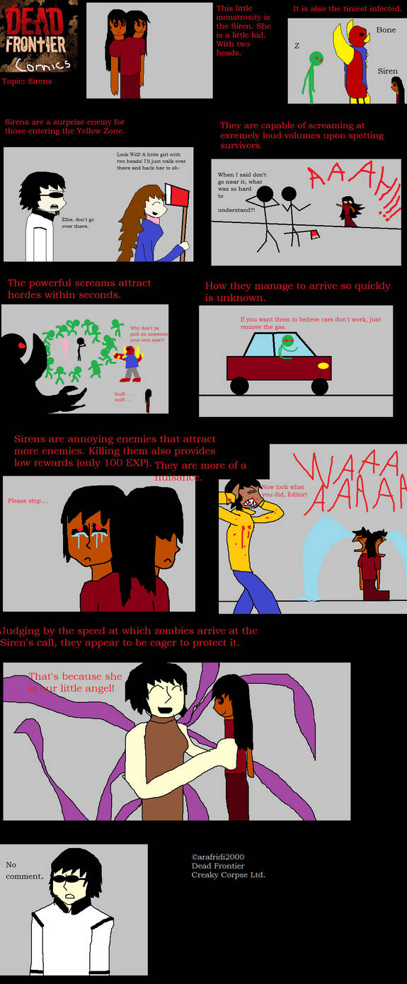 Dead Frontier Comics: Sirens by arafridi2000 on DeviantArt