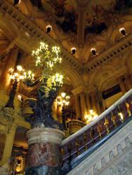 Opera Garnier - Grand Staircase chandelier