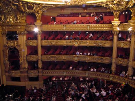 Opera Garnier - auditorium