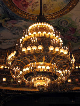 Opera Garnier - chandelier