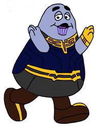 Grimace Infinity Gauntlet