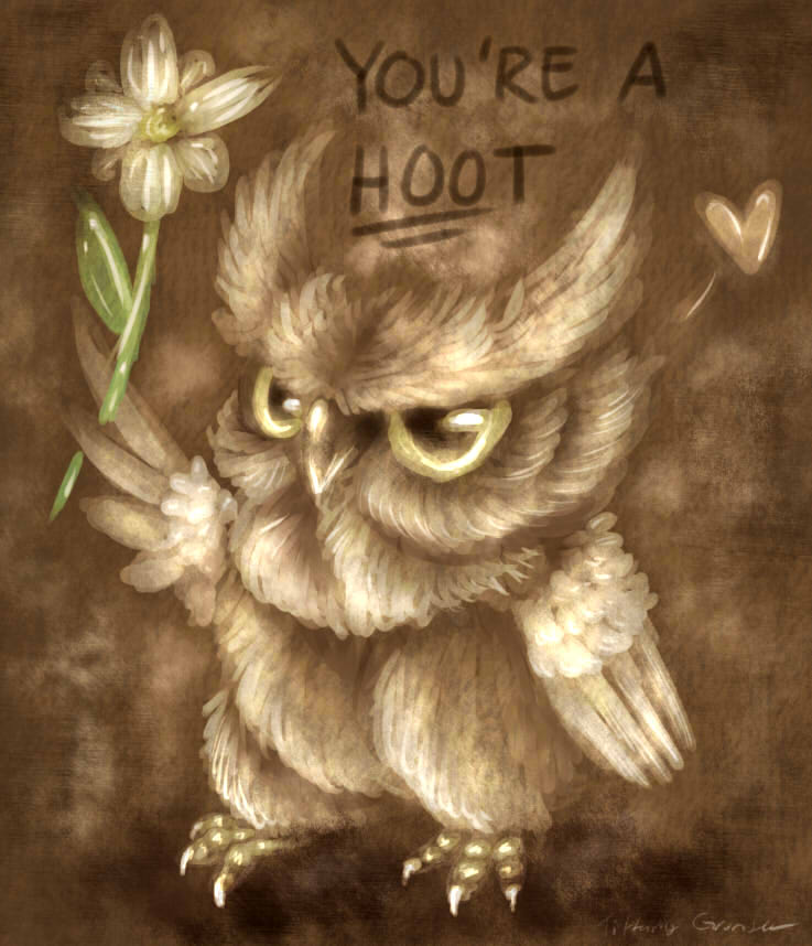 Owl be yours by Your-Typical-Tyrant