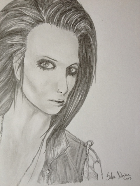 Black Veil Brides Drawings Drawing Andy from Blac...