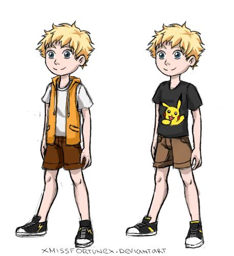 Spark (Kid Version) by xMissFortunex
