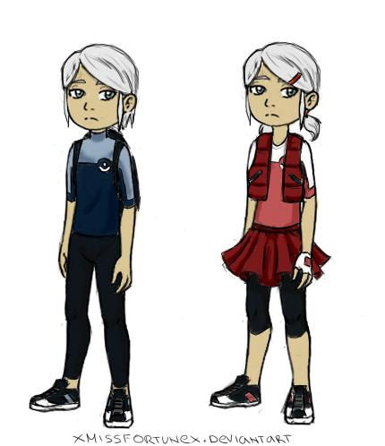 Blanche (Kid Version) by xMissFortunex