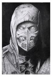 Scorpion, Mortal Kombat by Camigirl99