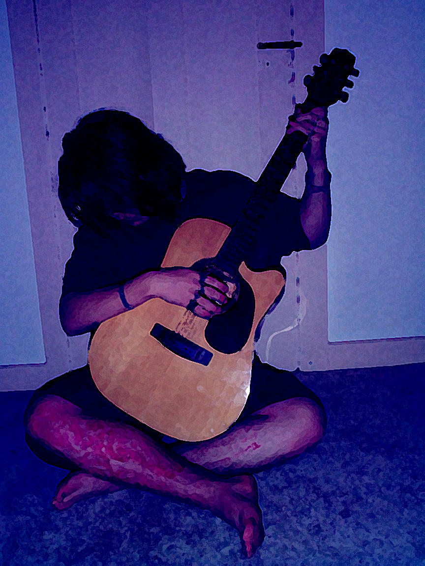 The Young Guitarist by SoLaCePaRoXySM