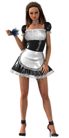 Hot Sexy French Maid - Sexy 3D