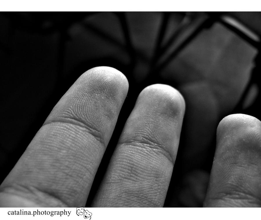fingers. by Draperie