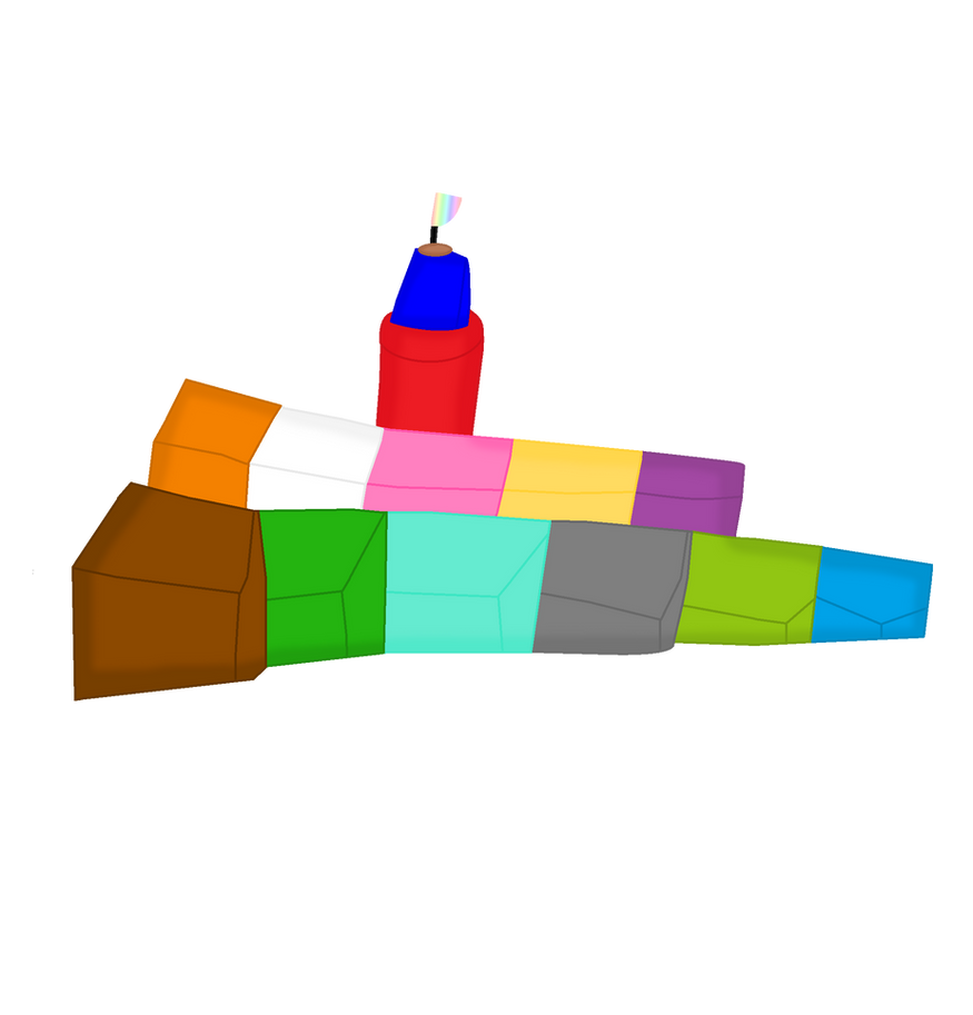 Tower of blocks  by NickEinsteins4Life