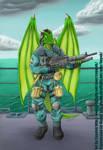 Commission - Soldier Hepek by coyotek