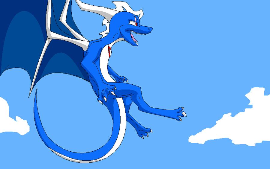 Jeff the Dragon by Kelskora