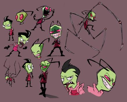Zim Sketches