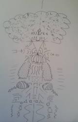 Unconscious Depiction of Future Awakening by mrdtron