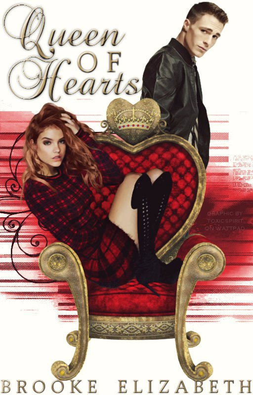 Fashion Book Cover Queen : Queen of hearts wattpad book cover by toxicspirit on