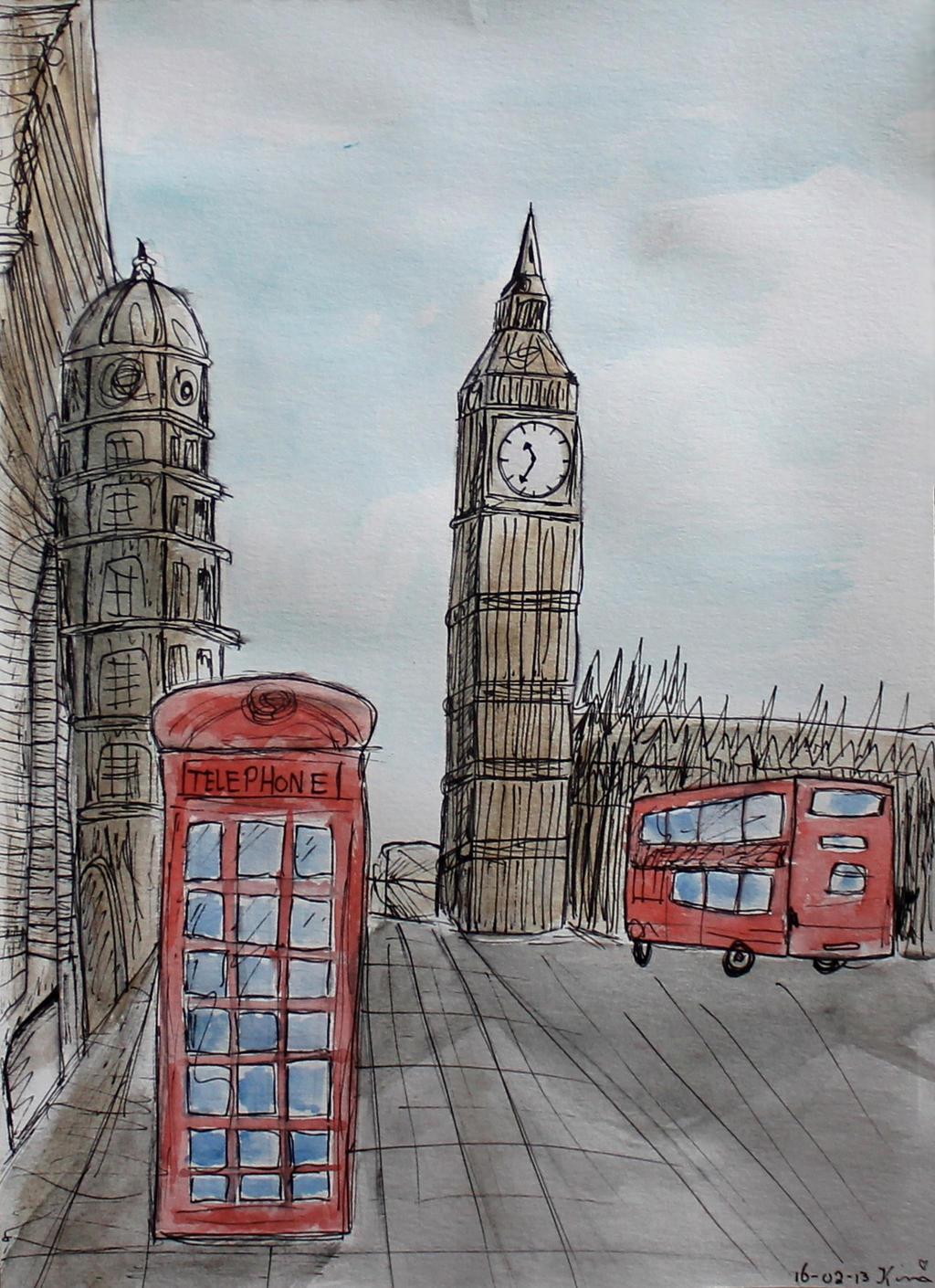 London by Kimmuurt