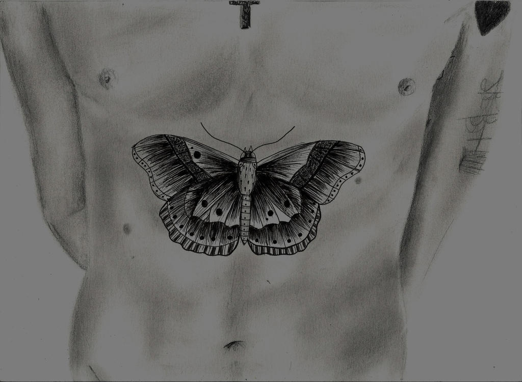 Tato Art Styles: Butterfly Tattoo (Harry Styles) By Kimmuurt On DeviantArt