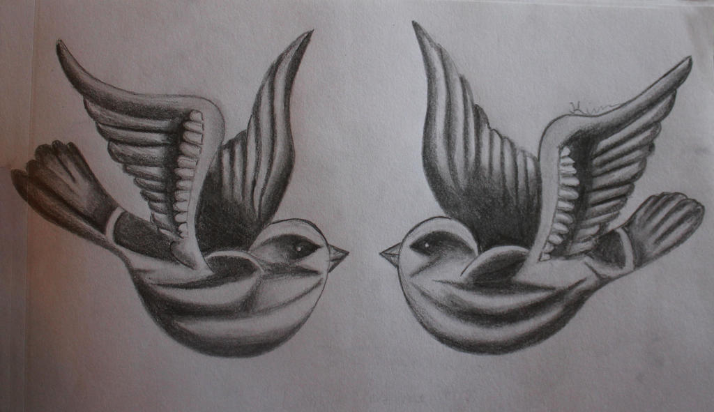 Tato Art Styles: Birds Tattoo Harry Styles By Kimmuurt On DeviantArt