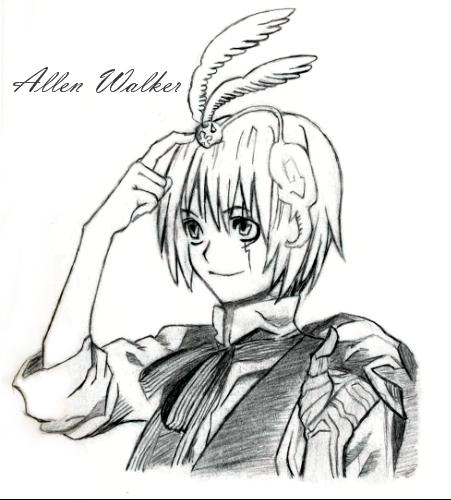 Allen Walker by Vampirite