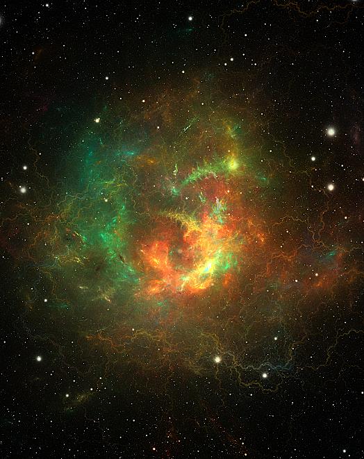 Knot Nebula by Esherymack
