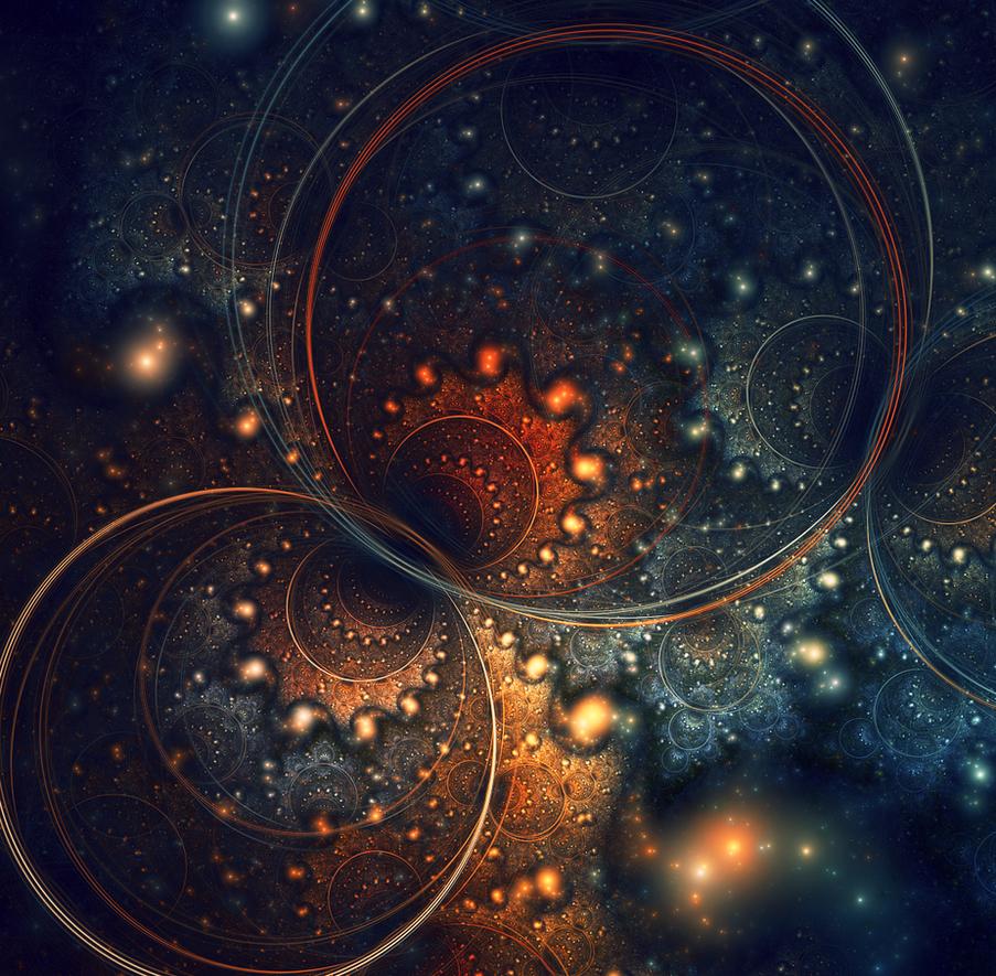 An Interplanetary Tango by Esherymack