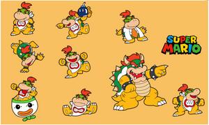 Bowser Jr!~ (Mario Art style)