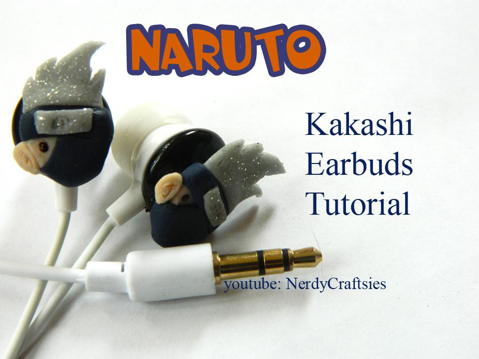 Kakashi Naruto Earbuds by NerdEcrafter