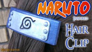 Naruto Inspired Hair Clip (VIDEO TUTORIAL)