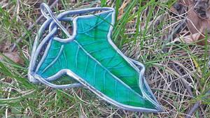 LotR Elven Leaf Brooch (Tutorial Video)