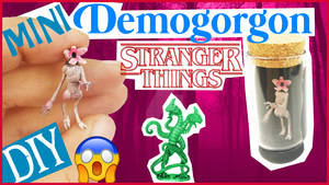 miniature DEMOGORGON Stranger Things