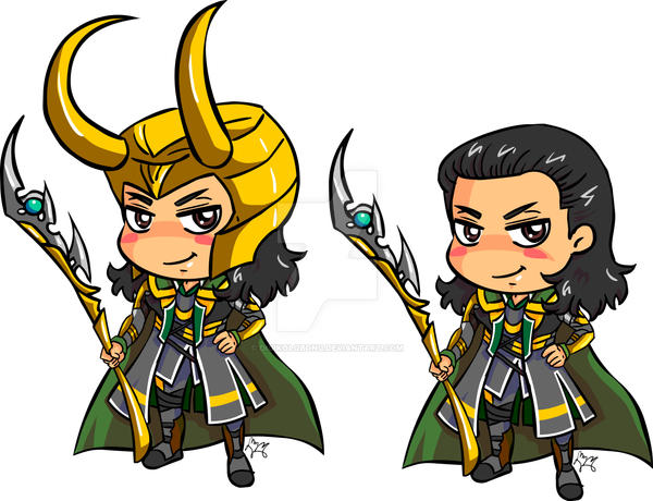 Avenger Loki finish by digikolobong