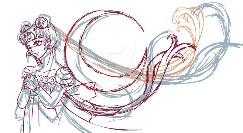 Sailormoon  Sketch by digikolobong