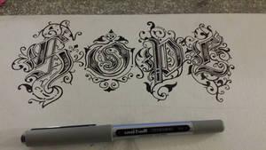 Hope tattoo by McginnisFineArts