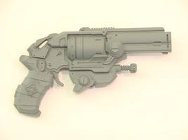 Gears of War Boltok pistol by OliverBrig