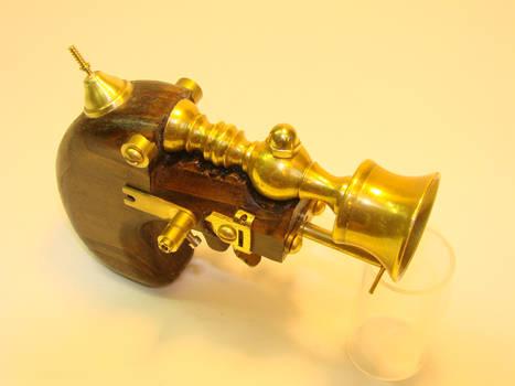 Steampunk Derringer top view