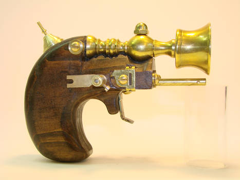 Steampunk Derringer side view