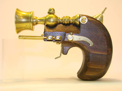Steampunk Derringer side