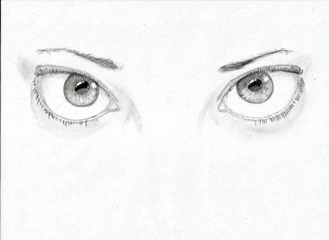 Reflective Eyes by Colorable on DeviantArt