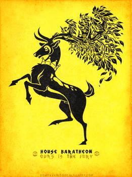 Pokemon / Game of Thrones: Sawsbuck / Baratheon