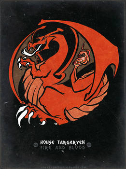 Pokemon / Game of Thrones: Charizard / Targaryen