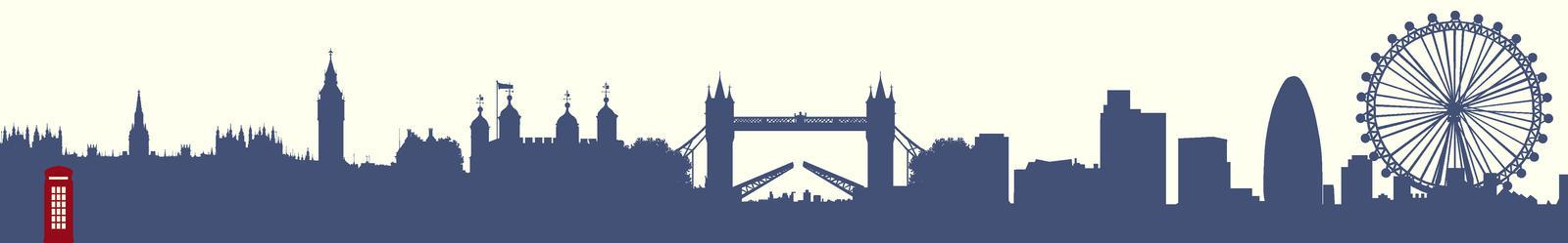 London Skyline By KyariTheKonverseKidd